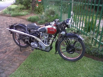 DJ Rally The Classic Motorcycle Rally - I will be riding a 1936 350 cc Ariel Red Hunter