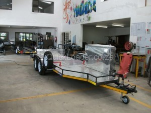 Custom built motorbike trailer 4
